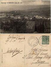 Barberino del mugello, firenze, panorama dal colle, viaggiata 1921