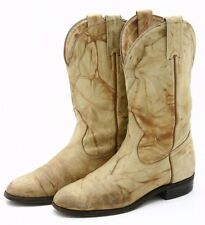 Boulet Canada Leather Cowboy Boots Mens 5.5 C narrow Roper Western Womens sz 7.5