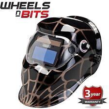 Arañas Web Design Energía Solar Auto-Varioshade Pulido Casco Máscara Soldadura &