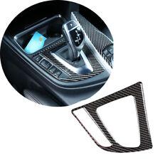 Luxury Carbon Fiber Car Gear Shift Knob Panel Cover For BMW 3 4 Series F30 F33