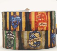 1 meter of Harry Potter Character 25mm Grosgrain Ribbon for card Making or Bows