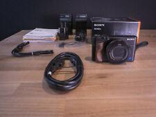 Sony DSC-RX100 IV Cyber-shot 4K Digital Camera - Black, mint, with accessories