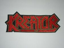 KREATOR THRASH METAL EMBROIDERED BACK PATCH