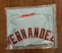 Livan Hernandez Autographed Signed Jersey San Francisco JSA