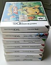 Pokémon Dash, Coocking Mama ,Robots, Nintendogs The Sims2 giochi per Nintendo DS