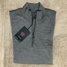 PAUL SHARK Half Zip size L (summer wool) new and genuine PVP 258€