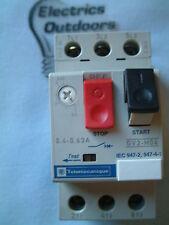 Telemecanique relé 0.4-0,63 Amp Manual Start Stop Switch gv2-m04 gv2m04 IEC 947