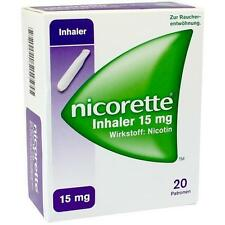 NICORETTE Inhaler 15 mg 20St Inhalat PZN 9267911