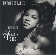 Unforgettable: With Love by Natalie Cole ~ CD Elektra 1991 ~ FREE Shipping USA