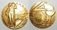 Médaille en Bronze Doré A.N.R.O.C électricité de Metz 2000 ( 024 )