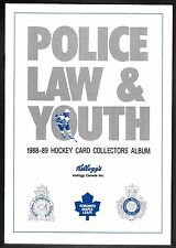 1988-89 Kellogg's London Police Toronto Maple Leafs MINT Album