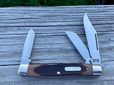 VINTAGE POCKET KNIFE-SCHRADE USA LARGE STOCKMAN 80T - NR