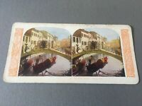Antique Stereo Card - Stereoview- Venice, Italy