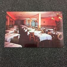Columbus OH Ohio Seafood Bay Steak & Lobster House Restaurant Vintage Postcard