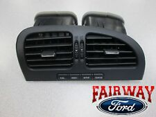 00 thru 02 Lincoln LS OEM Black Center Dash Air Vent Louvre with Message Center
