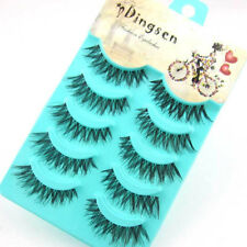 5 Pairs Mink Natural Thick False Fake Eyelashes Eye Lashes Makeup Extension Hot