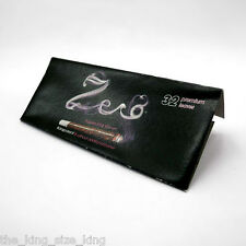 Zero King Size Slim Transparent Rolling Papers (1 Booklets) Kingsize Paper Set