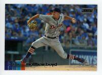 2020 Topps Stadium Club #223 MATTHEW BOYD Detroit Tigers PHOTO BASEBALL CARD