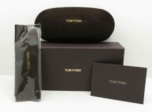 NEW TOM FORD BROWN SUNGLASSES EYEGLASSES OPTICAL CASE ONLY FAST SHIPPING