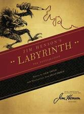 Jim Henson's Labyrinth Hardcover Novel Brian Froud Hensons David Bowie New Mint