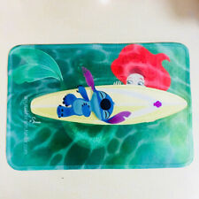 Lilo&stitch on boat fuzzy pad door mat non-slip pads ground mats new cute