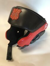 Boxing SPARRING Training HEAD GEAR in Leather Training Fighting Kickboxing Small