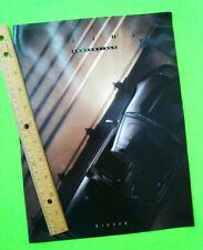 1992 NISSAN 300ZX CONVERTIBLE Dlx Color Folder Brochure ROADSTER Sports Car XLNT