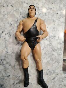 2011 WWE Mattel Basic Andre The Giant Wrestling Figure WWF Black Tights Rare