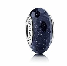 791628 Fascinating Aventurescent Pandora Sterling Silver S925ALE, Murano Glass