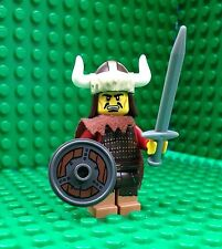 Lego Hun Warrior Minifigures Helmet Sword Cape Horns City Town 71007 Series 12