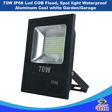 70 W IP66 Led COB Flood, Spot light Waterproof Aluminum Cool white Garden/Garage