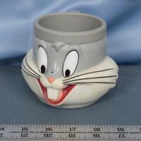 Mug Bugs Bunny 1992 Vintage Plastic Warner Bros dq