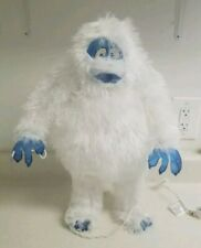 """Bumble Abominable Snowman Christmas Light Up Rudolph Red-Nosed Reindeer 18"""" Rare"""