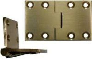 English Butler Tray Hinge - Brass   B1711