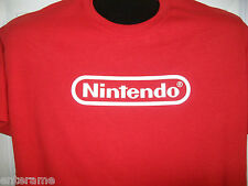 NINTENDO  LOGO T-SHIRT  12 COLORS TO CHOOSE