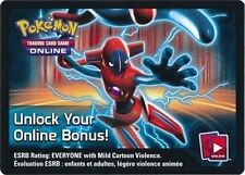 Pokemon Deoxys EX ONLINE Code Card TCG from Fall 2013 Tin