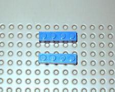 Lego ® Construction 2x Briques Bleues Blue Brick 1x4 Ref Lego 3010          LB13