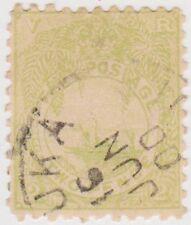 Stamp (F3a)Fiji 1891 2d Green Fine Used SG101 $1.00