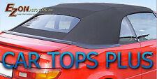 1996-1998 Toyota Paseo Convertible Top & Plastic Window, Black Cloth