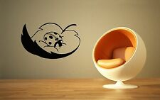 Wall Sticker Vinyl Decal Leaf Ladybug Insect Nice Decor for Room (ig1147)