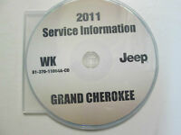 2011 JEEP GRAND CHEROKEE Service Shop Workshop Repair Manual CD NEW FACTORY