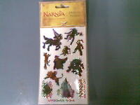 CHRONICLES OF NARNIA LION  WITCH WARDROBE PRISMATIC STICKERS LARGE  NEW+SEALED