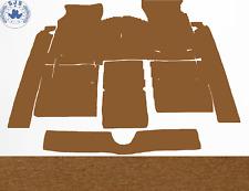 Carpet Set Carpet for Fiat 124 Sport Coupe Year 1967–1972 Velour Dattel