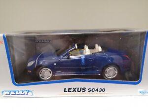 Lexus Sc430 Welly 1 18