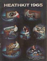 Vintage Original HEATHKIT ELECTRONIC CATALOG ~ 1965 ~ 106 Pages CB Ham Radio Amp