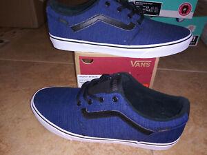 NEW $59 Mens Vans Chapman Stripe Shoes, size 13