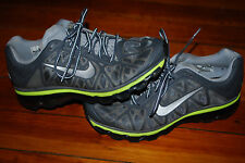 Women's Nike Air Max 2011 Wolf Gray / Metallic Silver Running Sneakers (7)