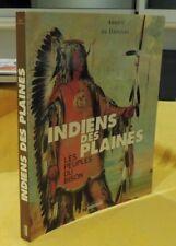 INDIENS DES PLAINES Les Peuples Du Bison catalogue d'exposition daoulas