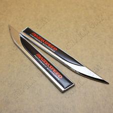 2x MAZDASPEED Logo Car Auto Metal Alloy Body Side Knife Emblem Sticker for MAZDA