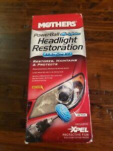 Mothers Polish PowerBall 4Lights Headlight Headlamp All-In-One Restoration Kit